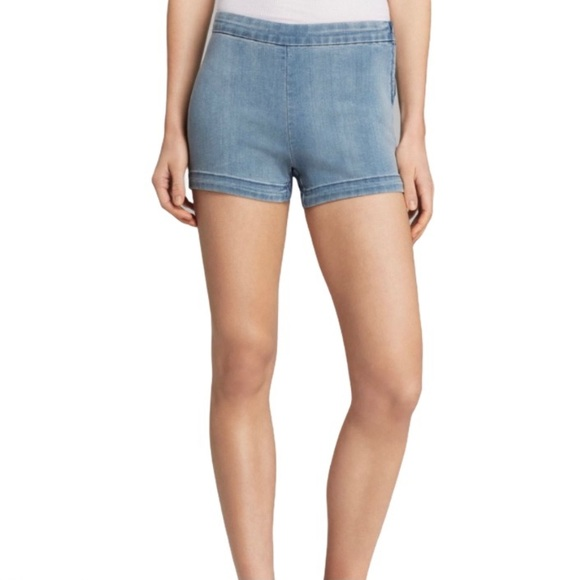 Free People High-Waisted Jean Shorts - Size 30